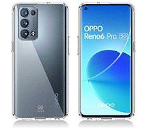 Coque intégrale Ibroz  Oppo Reno 6 Pro transparent