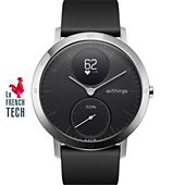 Montre connectée Withings Steel HR 40mm Noir