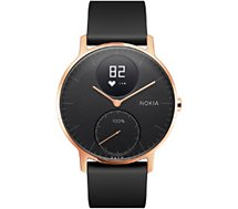 Montre connectée Withings / NOKIA Steel HR rose gold noir