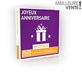 Coffret cadeau Smartbox JOYEUX ANNIVERSAIRE