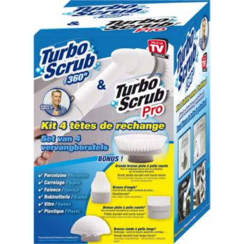 Best Of Tv 4 recharges Turbo Scrub CLEAN10