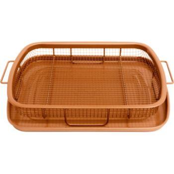 gotham steel crisper tray moule plat boulanger. Black Bedroom Furniture Sets. Home Design Ideas