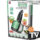 Coupe lamelles et quartiers Best Of Tv NICER DICER QUICK