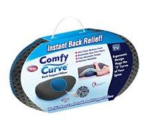Coussin de soutien lombaire Comfy Curve  de soutien dorsal
