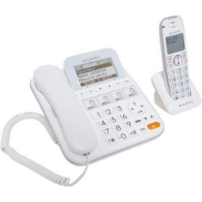 T l phone sans fil l 39 achat malin boulanger - Telephone sans fil avec repondeur pour senior ...