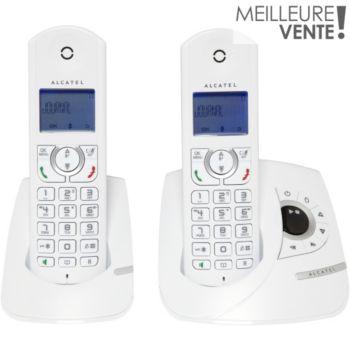 Alcatel F360 Voice Duo Blanc