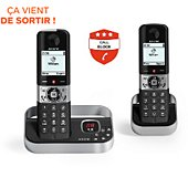 Téléphone sans fil Alcatel F890 Voice Duo Noir