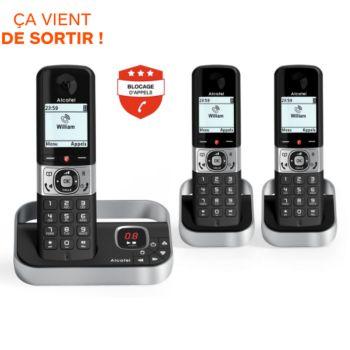 Alcatel F890 Voice Trio Noir