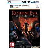 Jeu PC Just For Games Resident Evil Operation Raccoon City