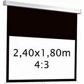 Ecran de projection Kimex manuel 2,40 x 1,80 m- Format 4:3