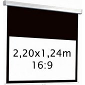 Ecran de projection Kimex manuel 2,20 x 1,24 m- Format 16:9
