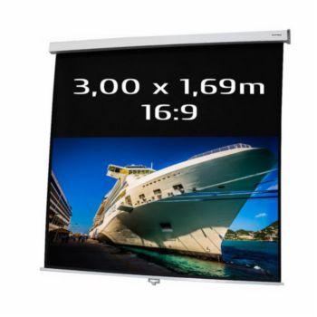 Kimex de projection manuel 3.00 x 1.69m