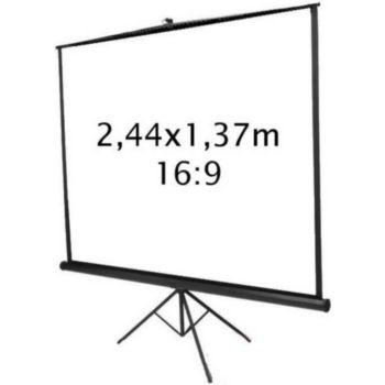 Kimex trépied 2,44 x 1,37 m- Format 16:9