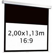 Ecran de projection Kimex manuel 2,00 x 1,13 m- Format 16:9