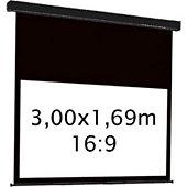 Ecran de projection Kimex electrique 3,00 x 1,69 m- Format 16:9