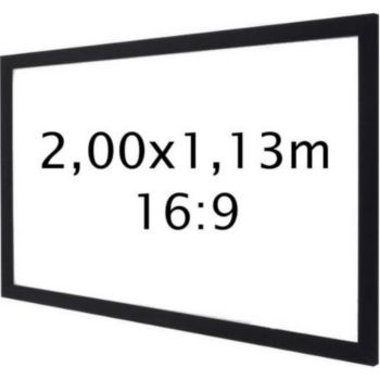 Kimex sur cadre 2,00 x 1,13 m- Format 16:9
