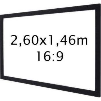 Kimex sur cadre 2,60 x 1,46 m- Format 16:9
