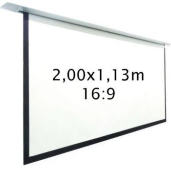 Kimex motorisé encastrable 2,00 x 1,13 m, 16:9