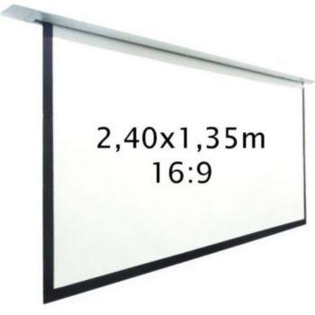 Kimex motorisé encastrable 2,40 x 1,35 m, 16:9