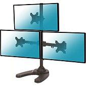 """Support écran Kimex pour 3 écrans moniteurs 13""""-27"""""""