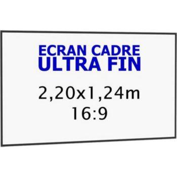 Kimex cadre ultra-fin 2,20 x 1,24 m, 16:9