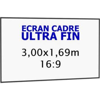Kimex cadre ultra-fin 3,00 x 1,69 m, 16:9