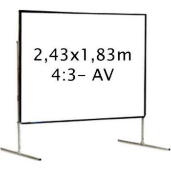 Kimex valise 2,43 x 1,83 m, 4:3- Toile Avant
