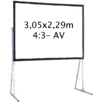Kimex valise 3,05 x 2,29 m, 4:3- Toile Avant