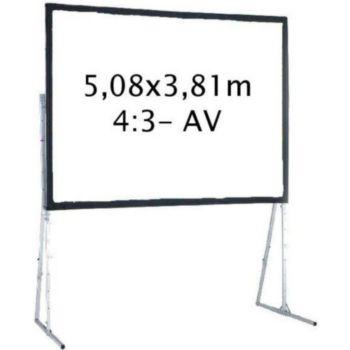 Kimex valise 5,08 x 3,81 m, 4:3- Toile Avant