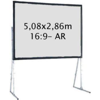 Kimex valise 5,08x2,86 m, 16:9- Toile Arrière