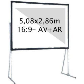 Kimex valise 5,08 x 2,86m, 16:9- Toile AV + AR
