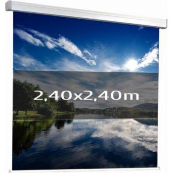 Kimex manuel 2,40 x 2,40m (1/1)- Toile blanche