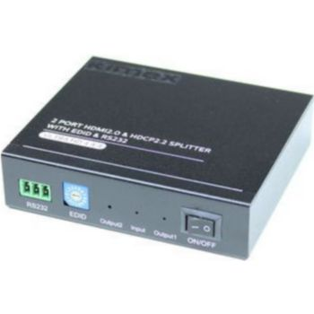 Kimex Splitter HDMI2.0/ 1 entrée-2 sorties