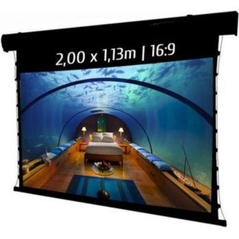 Kimex electrique tensionné 2,00 x 1,13 m, 16:9
