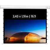 Ecran de projection Kimex electrique tensionné 3,40 x 1,91 m, 16:9