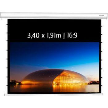 Kimex electrique tensionné 3,40 x 1,91 m, 16:9