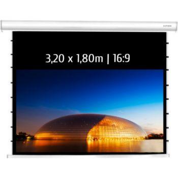 Kimex electrique tensionné 3,20 x 1,80 m, 16:9