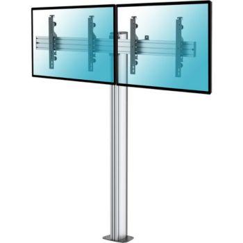 """Kimex Support sur pied 2 écrans TV 43"""" - 49"""""""