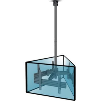 "Kimex Support plafond 3 écrans 32""-65"""