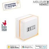Thermostat connecté Netatmo compatible fioul, gaz, bois