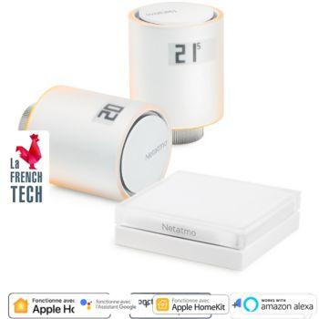 Robinet thermostatique Netatmo Kit Vanne connectée radiateur