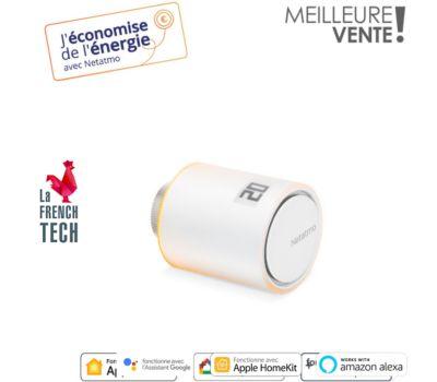 Robinet thermostatique Netatmo Vanne additionnelle pour radiateur