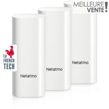 Netatmo Pack 3 Détect. Ouv. Intelligents