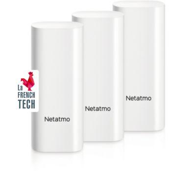 Détecteur d'ouverture Netatmo Pack 3 Détect. Ouv. Intelligents
