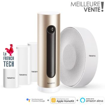 "Netatmo Je sécurise ma maison ""Welcome"""