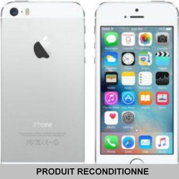 apple iphone 5s 16 go blanc reconditionn bon tat. Black Bedroom Furniture Sets. Home Design Ideas