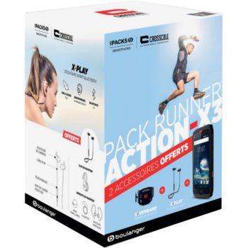 Crosscall Pack Action X3 + XPlay+ Xarmband