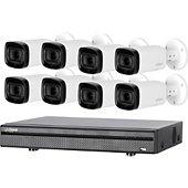 Caméra de sécurité Dahua 8 caméras compactes KITEVO 8BUL1080P-002