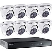 Caméra de sécurité Hikvision Kit video surveillance HIK-8DOM-THD-001
