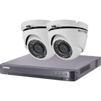 Hikvision Kit video surveillance HIK-2DOM-THD-002